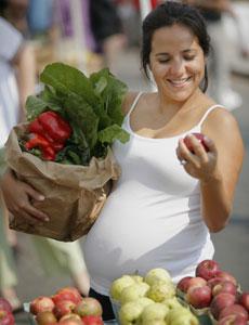 Vegetais e frutas indicados para se consumir na gravidez
